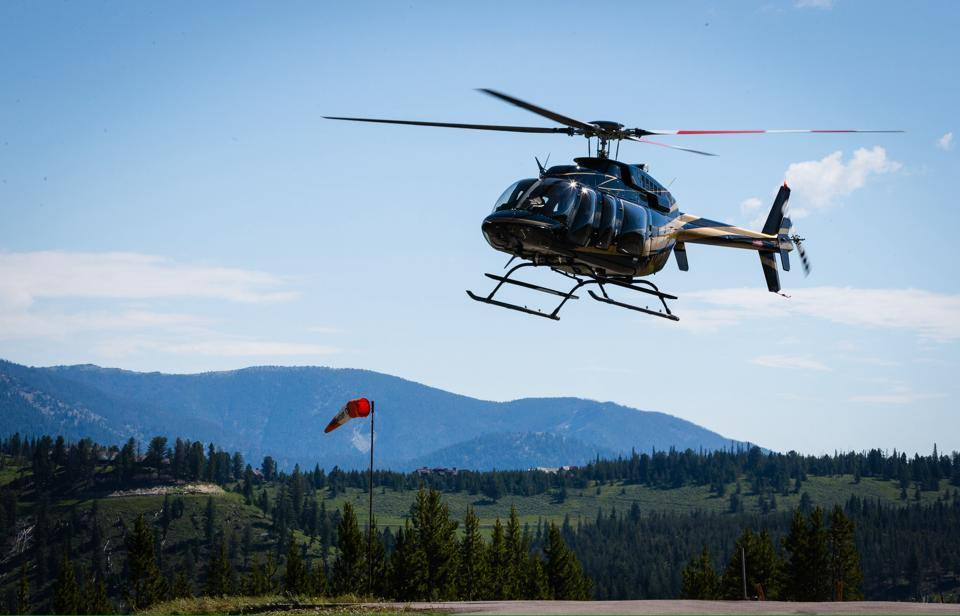 Amangani Helicopter Flights